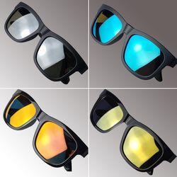 베네 스포츠 패션 편광 방탄 미러 선글라스