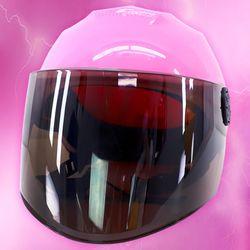 전대물 슈퍼 히어로 모자 헬멧가면 (핑크)
