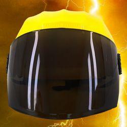 전대물 슈퍼 히어로 모자 헬멧가면 (옐로우)