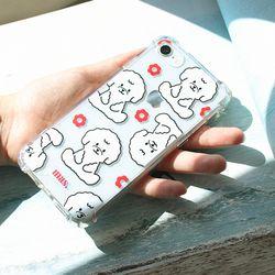 I phone clear case - bichon