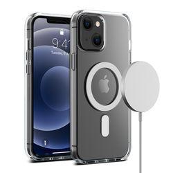 아이폰 13 케이스 마그네틱 투명 크리스탈믹스