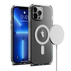 아이폰 13 프로 맥스 케이스 마그네틱 투명 크리스탈믹스