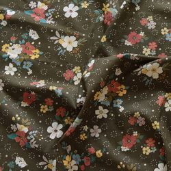 [Fabric] 노스텔지어 플라워 린넨
