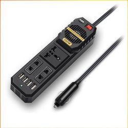 차박 필수 차량용 12v AC코드 멀티탭 콘센트