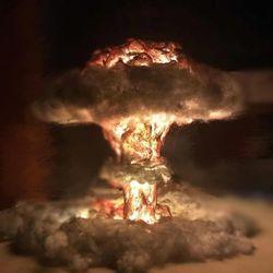 DIY무드등 히로시마의그날 핵폭발무드등 인테리어조명