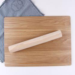 [무료배송] 반죽 밀대 (소) 30 x 4cm (c) 1개