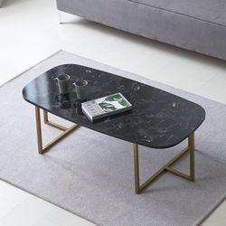 [UFO]엉클잭 네오 타원 브론즈스틸 거실테이블좌식테이블