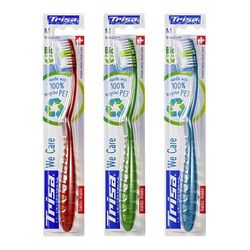 트리사위케어 친환경칫솔 친환경플라스틱 4세트 4185