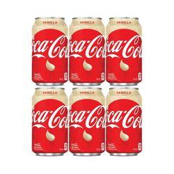 Coca-Cola 바닐라 코크 355ml 6캔 코카콜라 Vanilla