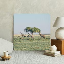 소중한 이에게 금전운 가득 코끼리 부엉이 풍수 액자테이블
