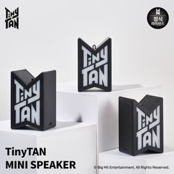 BTS 방탄소년단 TinyTAN 미니 블루투스 스피커 멤버 키링 포함
