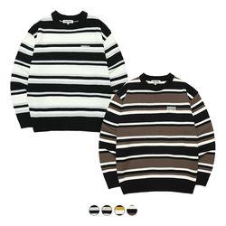 Three Stripe Knit (4color)