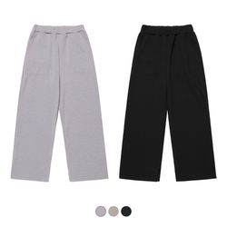 Finding Knit Wide Pants (3color)