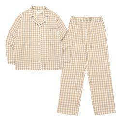 Chood Pajamas Set (beige)