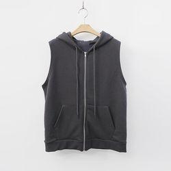 Hooded Zip-Up Vest