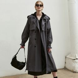 OVERSIZED DOUBLE TRENCH COAT_CHARCOAL(ITEM1BNERS8)