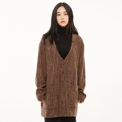 HS 가디건 [itary brown](ITEML15CP6Y)