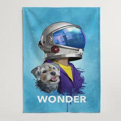 인테리어 영화 패브릭 포스터 대형 가리개 커튼 원더