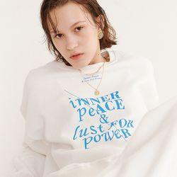 INNER PEACE SWEATSHIRT IVORY