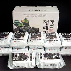 실속만점 광천 김 선물세트 식탁김 12봉