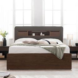 엘리브 뉴 LED 조명 수납형 서랍 침대 라지킹 프레임 sy764