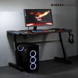 보루네오 하우스 엘리브 잭 PC 게이밍 컴퓨터 책상 ch056