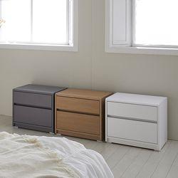 보루네오 하우스 엘리브 2단 서랍 침대 협탁 sy773