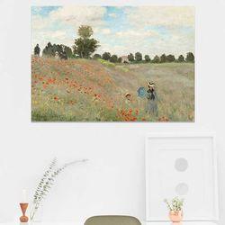주문제작 액자 Monet Poppy Field1881 841x594x30
