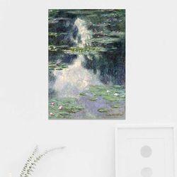 주문제작 액자 Monet  Pond with Water Lilies