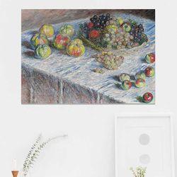 주문제작 액자 Monet Apples and Grapes 841x594x30
