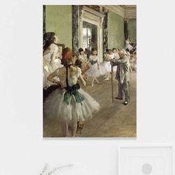 주문제작 액자 Edgar Degat The Ballet Class