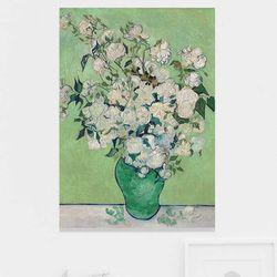 주문제작 액자 A Vase of Roses 594x841x30mm