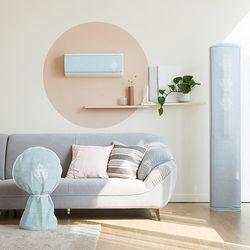 스탠드 에어컨+벽걸이 에어컨+선풍기 커버 3종 세트