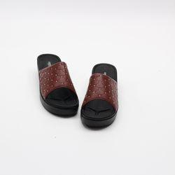 여자 가을 보석 사무용 중굽 간호 발편한 슬리퍼
