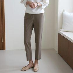 여자 초가을 하객룩 다리이뻐보이는 일자핏 기본 슬랙