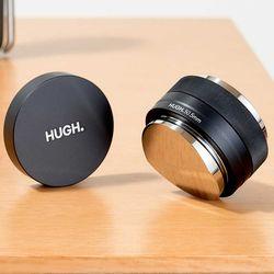 HUGH 바리스타 51mm 58mm 정밀 양면탬퍼 디스트리뷰터 커피템퍼