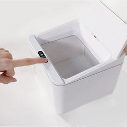 스마트 자동 센서 노터치 휴지통 쓰레기통 4L