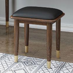 북유럽풍 원목 화장대 의자