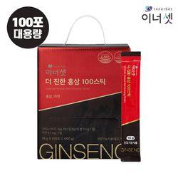 더 진한 홍삼 100 스틱 10gX100포X1박스 대용량