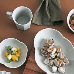 [시라쿠스] 네이처 도자기 플레이팅 한식 그릇 모음