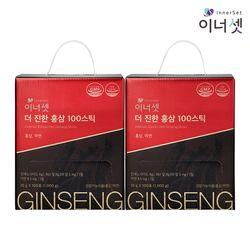 더 진한 홍삼 100 스틱 10gX100포X2박스 대용량