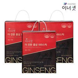 더 진한 홍삼 100 스틱 10gX100포X3박스 대용량