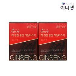 더 진한 홍삼 데일리스틱 2개월분 10gX30포X2박스