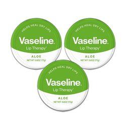Vaseline 바세린 립테라피 알로에 3세트