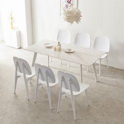 로레인 세라믹 1600 테이블 식탁 세트(의자6P)TB20O80