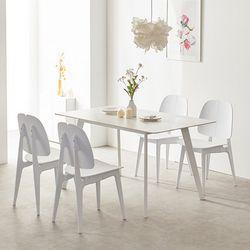 로레인 세라믹 1600 테이블 식탁 세트(의자4P)TB20O79
