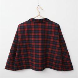 가을 코디 편한 데일리 여친룩 패턴 체크 셔츠