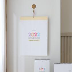 2022년 모모팝 벽걸이 캘린더 달력