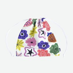Ami pouch-party of flower