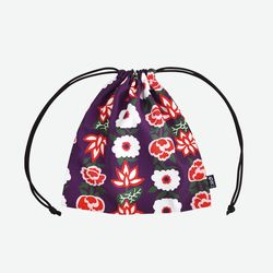 Ami pouch-A feast of flowers